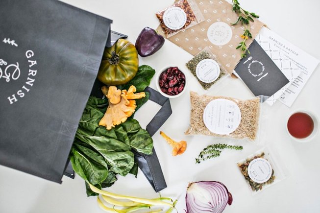 Atlanta Organic Dinner Delivery and Online Organic Groceries Garnish and Gather