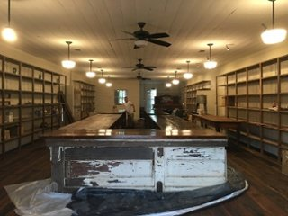 9-2-16.jpgWhite Oak Pastures General Store counter installed