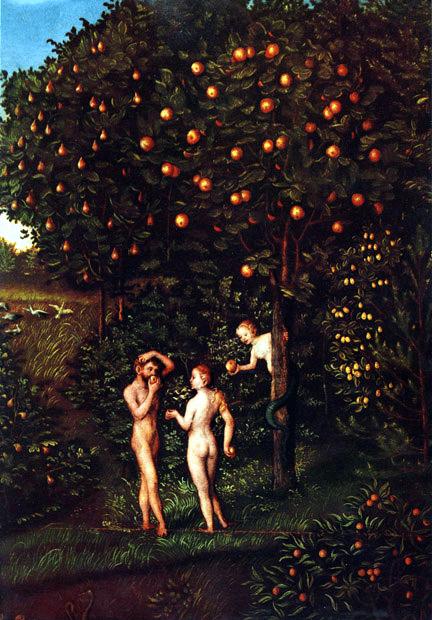 Adam and Eve Lucas Cranach