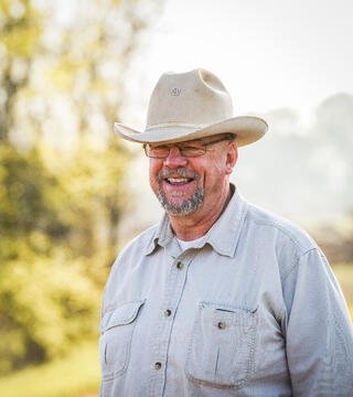 Will Harris owner of the multi-generational farm White Oak Pastures