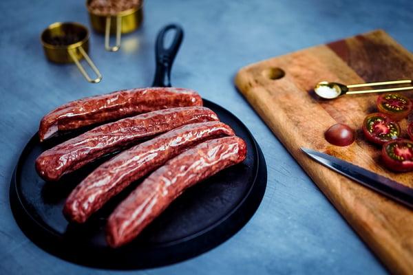 Hickory Smoked Sausage prep