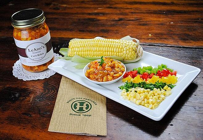 LeAnns Corn Relish is gluten-free and all natural