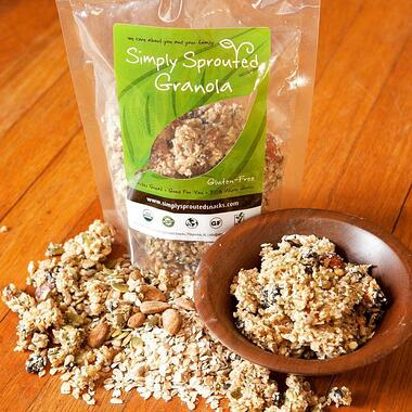To Your Health Simply Sprouted Granola