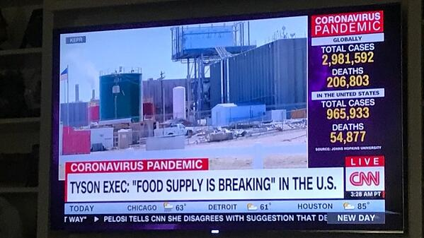 Tyson Exec on CNN