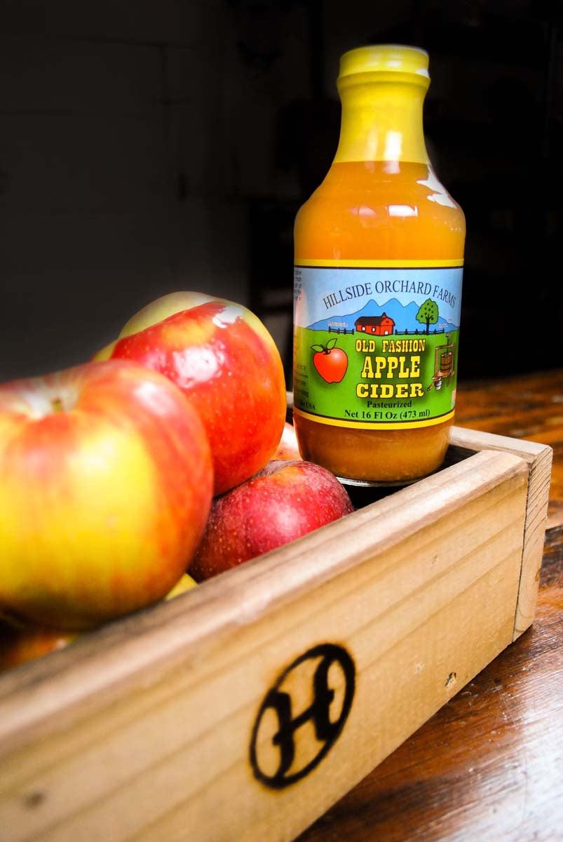 Hillside Orchard Farms Old Fashioned Apple Cider