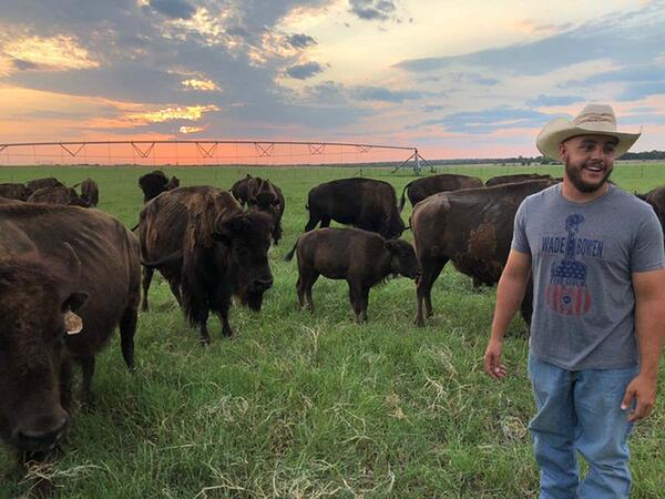 White Oak Pastures Intern James Tomeny
