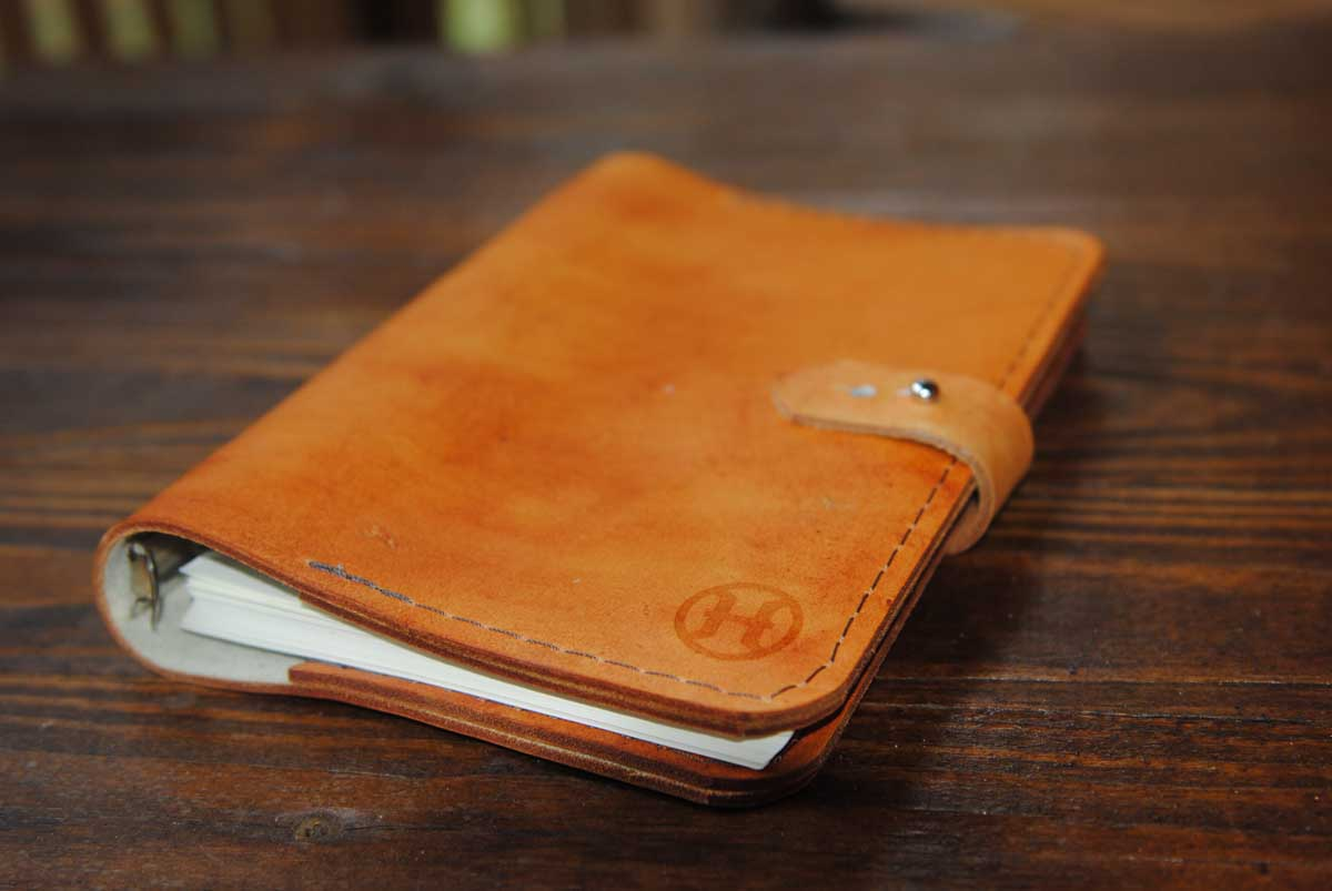WOP-leather-guestbook