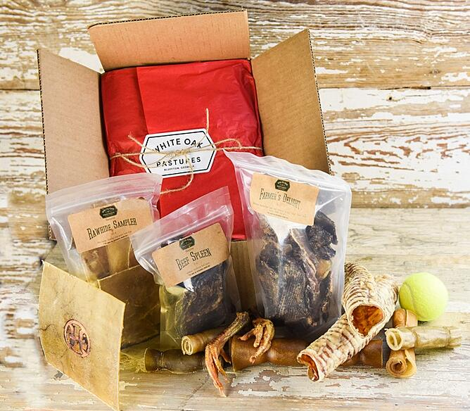 White Oak Pastures holiday gift box