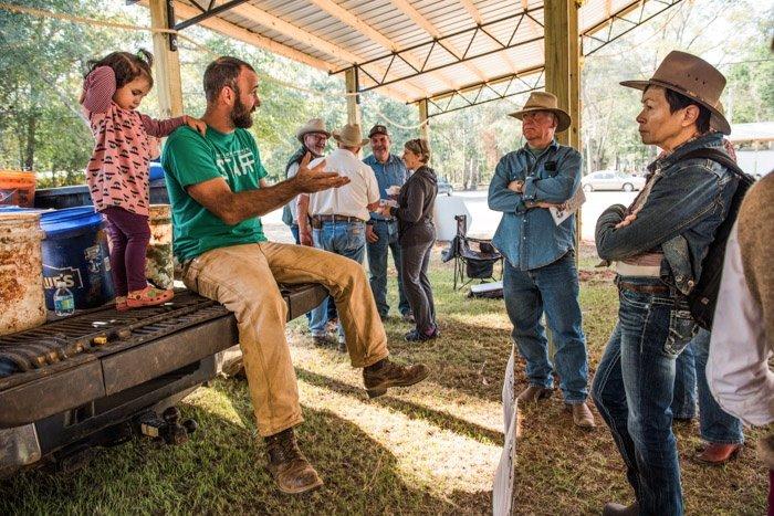 Weston A Price White Oak Pastures Farm Tour