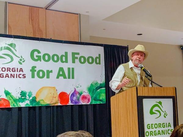 Will-Harris-speaks-GA-Organics-2019