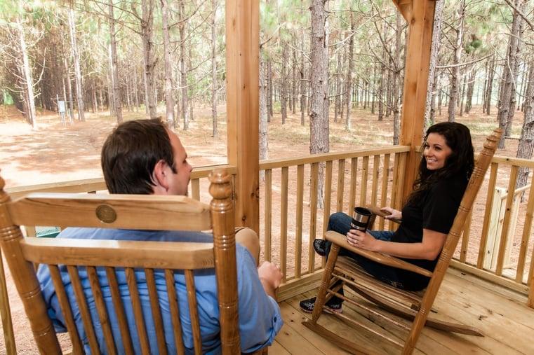 Cabins in south Georgia