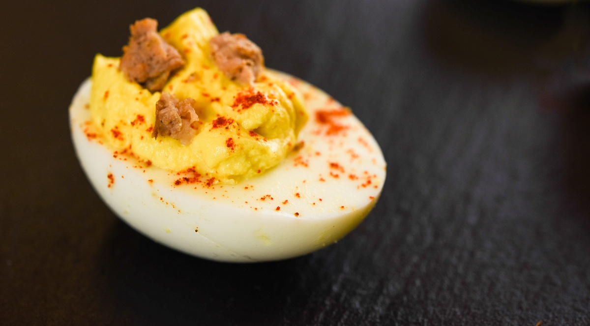paprika deviled eggs