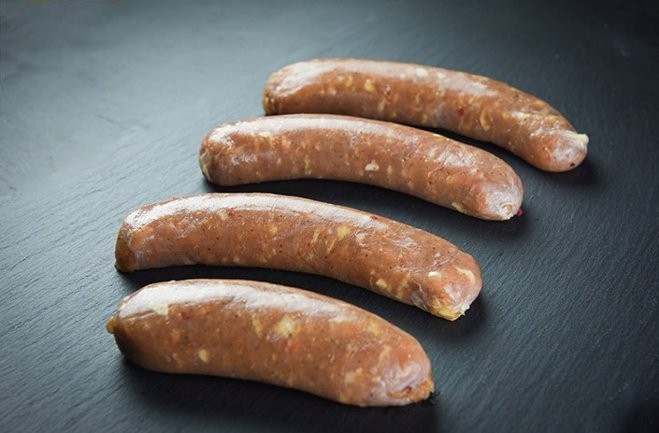 Non-GMO pasture raised cajun chicken sausage links