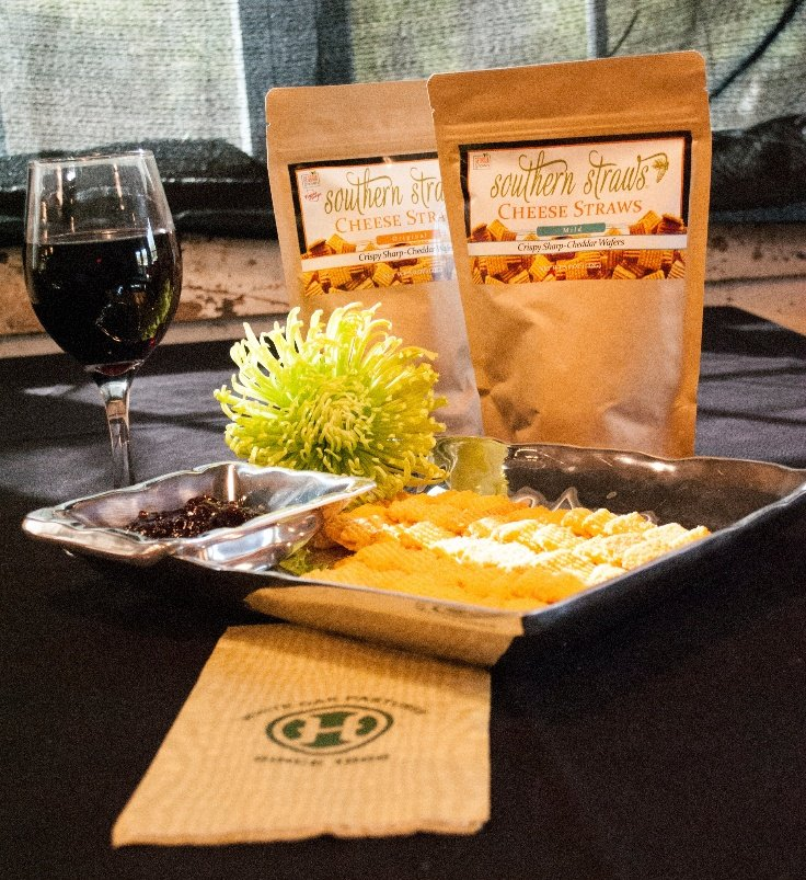 Locally made from premium ingredients Southern Cheese Straws are perfect with bold red wines