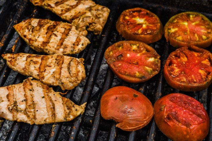 Non GMO gap step 5 certified humane animal welfare approved grilled chicken breast