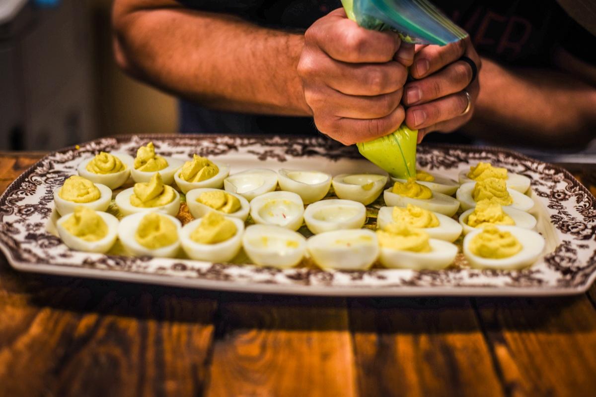 foodie deviled eggs eat local