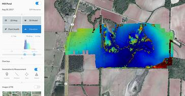 elevation map drone deploy