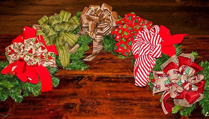 Hand-made holiday gifts at the White Oak Pastures general store