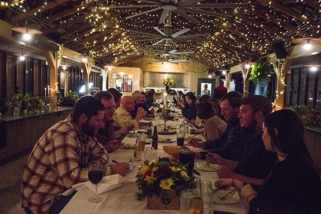 iberian dinner table