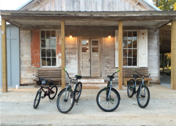 White Oak Pastures General Store bicycles