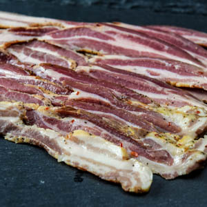 Pastured pork sugar-free bacon