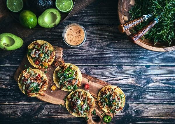 stewing hens taco recipe avocados meal