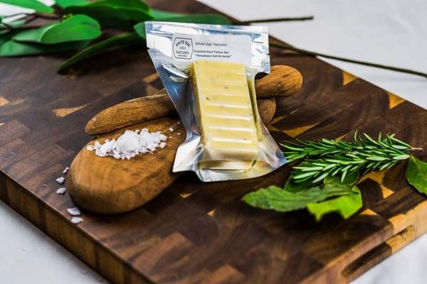 Grassfed Tallow Butter Substitute Herb Flavor