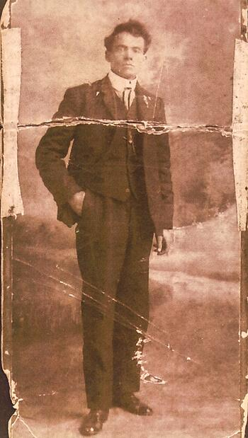 Virgil Redding Cabin in Bluffton Georgia at White Oak Pastures