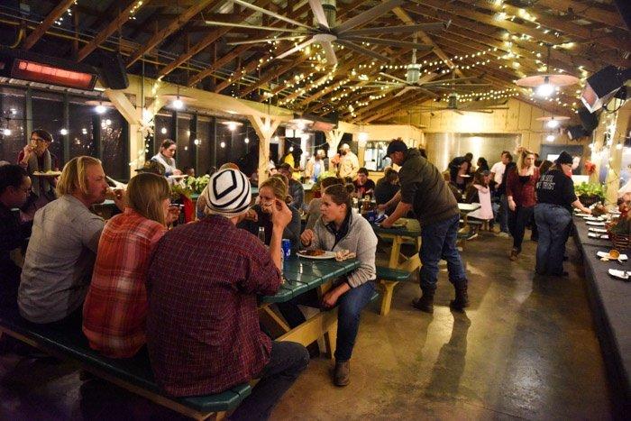 We crammed our pavilion with almost all of our 140 employees for this years Christmas party.jpg