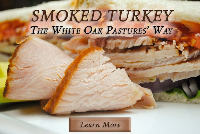 Pasture raised turkey breast at our general store and online