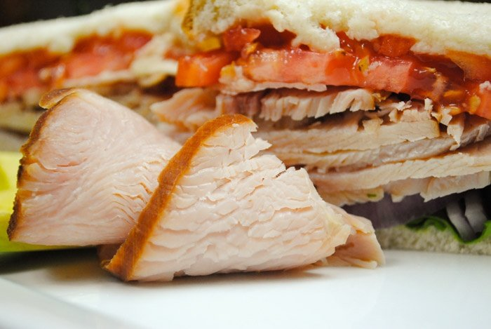 Certified Non-GMO GAP Step 5+ Certified Humane smoked turkey breast width=